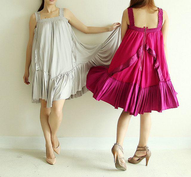 Frywolne sukienki na gorące dni :)