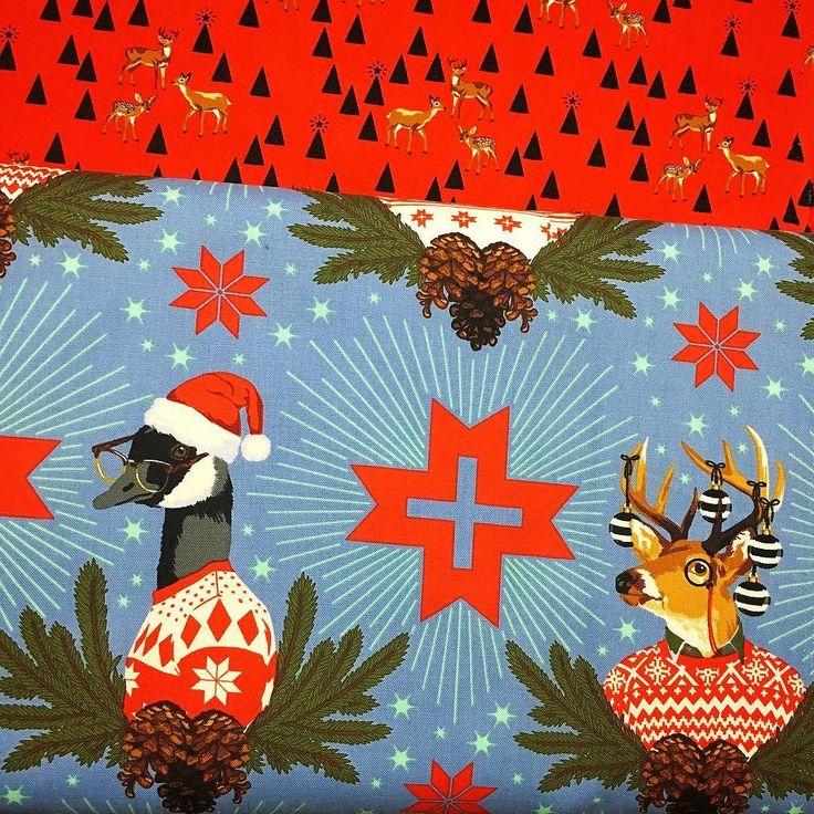 Tula Pink Christmas gorgousness! #luccellomelbourne #handmadechristmas #handmadegifts #quilting #jinglebells #tulapink