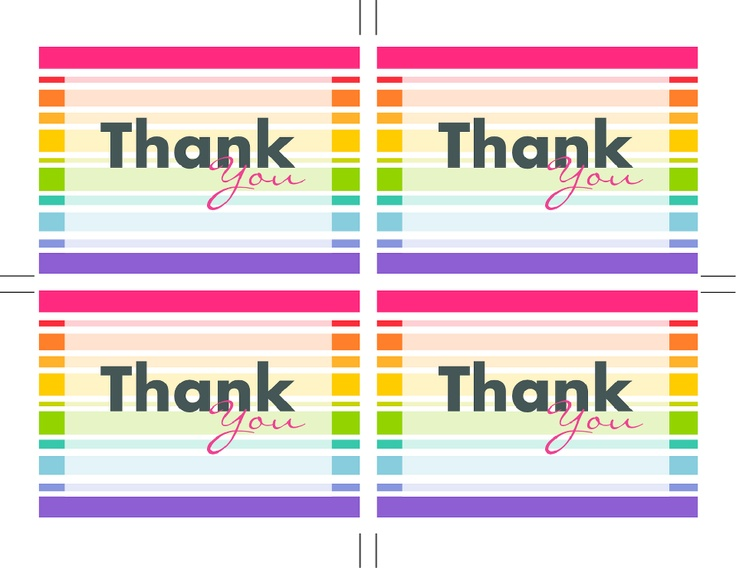 67 best Thank You Notes images on Pinterest Thank you notes - thank you notes for teachers