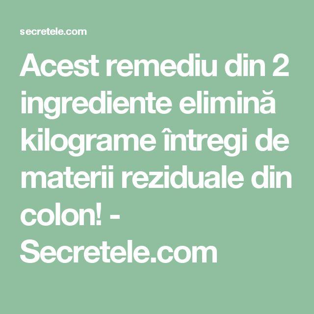 Acest remediu din 2 ingrediente elimină kilograme întregi de materii reziduale din colon! - Secretele.com