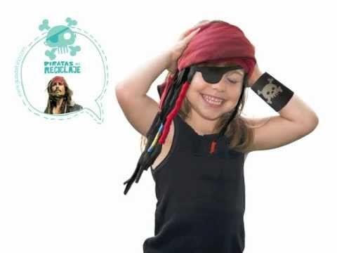 IDEAS PARA INFANTIL: Rastas caseras de pirata