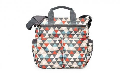 Triangles Duo Signature Diaper Bag by Skip Hop