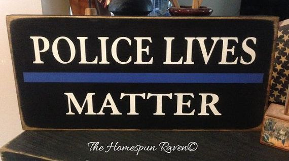Police lives matter thin blue line law enforcement wood sign police plaque LE deputy corrections on Etsy, $17.00