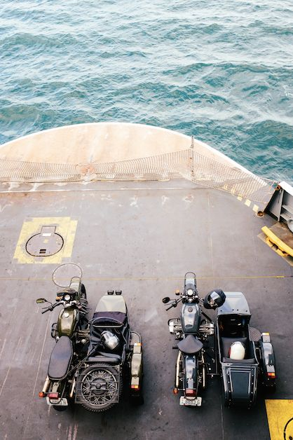 Ural's on aircraft carrier