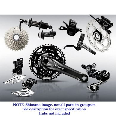 Shimano Deore M615 Double Groupset