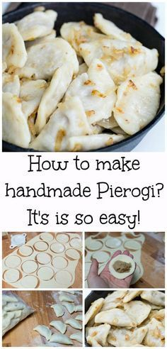 Making handmade Pierogi can sound complicating, but it so easy! Step by step photo tutorial to make Pierogi at home!