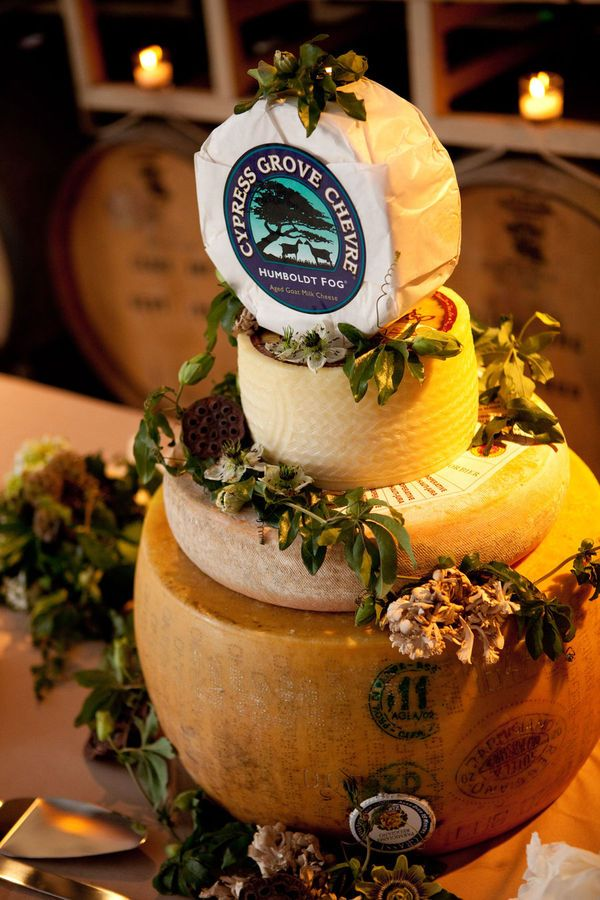 Wedding Cake California Cheeses