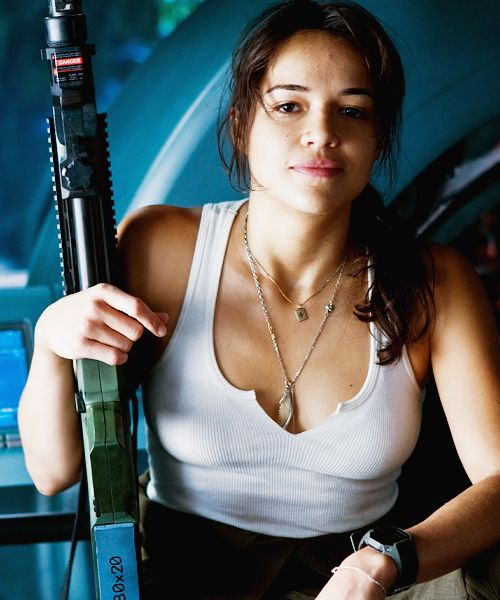Trudy Chacon (Michelle Rodriguez) -- Avatar (2009)
