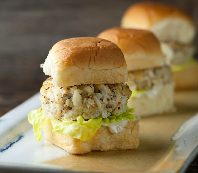 Crab Cake Sliders Recipe Crab Cakes Slider Recipes