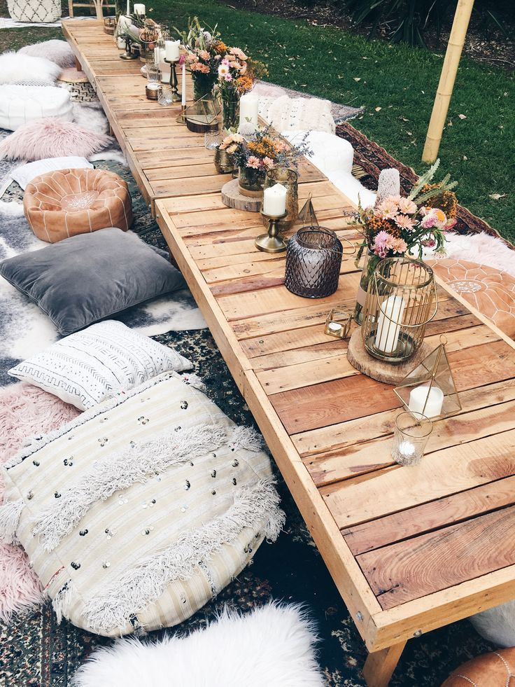 Party im Freien   – Party Inspiration & Entertaining