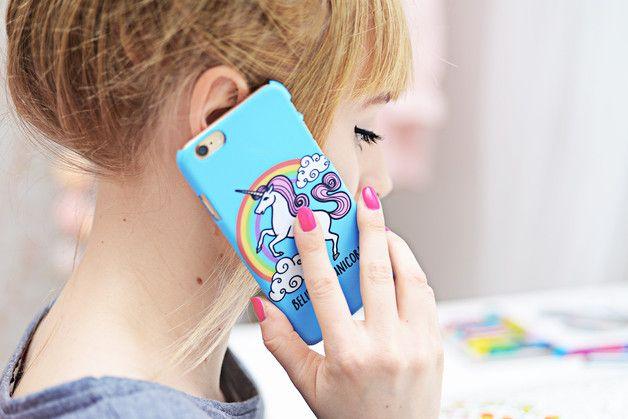 Phone Case - BELIEVE IN UNICORNS - ZO-HAN - Obudowy do telefonów