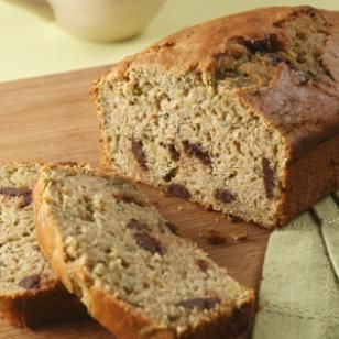 EatingWell Zucchini Bread with Chocolate ChipsEating Well, Desserts, Zucchini Breads, Breads Recipe, Chocolate Chips, Chocolates Chips, Eatingwell Zucchini, Healthier Recipe, Chips Recipe