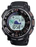 Casio - Pro Trek Men's Solar Atomic Watch - Black, PRW2500R-1CR