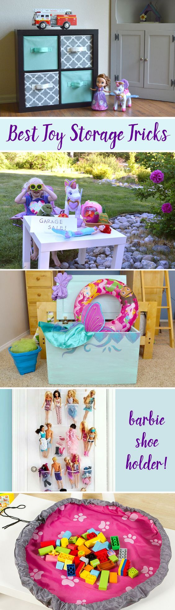 Organize Your Kids Toys With These Creative Toy Storage Tricks And  Solutions To Cut The Clutter