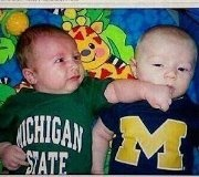 haha yes! only the Michigan State baby should be wearing Ohio State