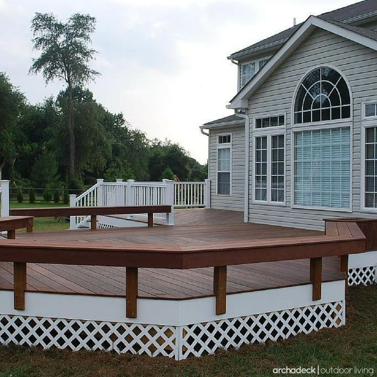 117 Best Built In Deck Seating, Benches, Planters Images