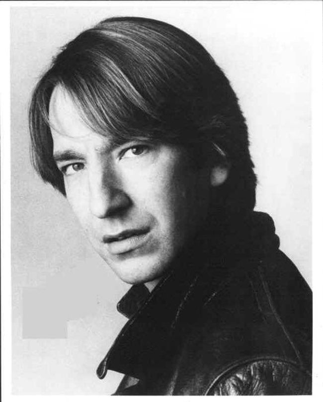 Young Alan Rickman in Black Le is listed (or ranked) 6 on the list 12 Pictures of Young Alan Rickman