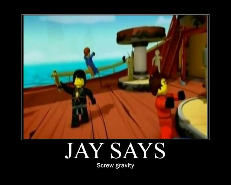 Jay's logic. He should be an astronaut XD