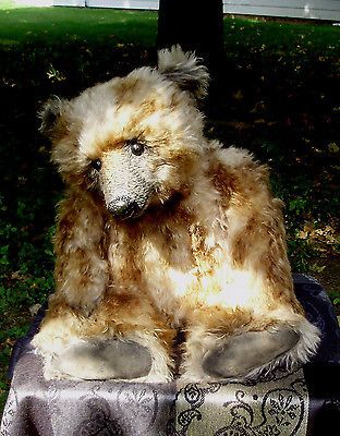 Marvelous Portobello Bear Forest Amy Goodrich OOAK Mint | eBay