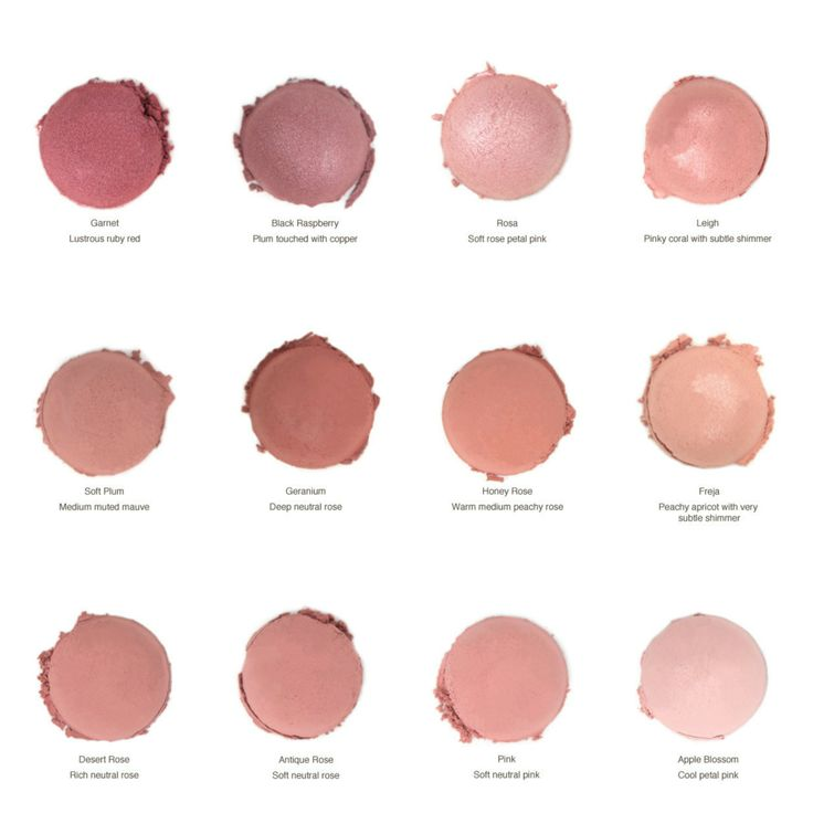 Alima Pure blushes