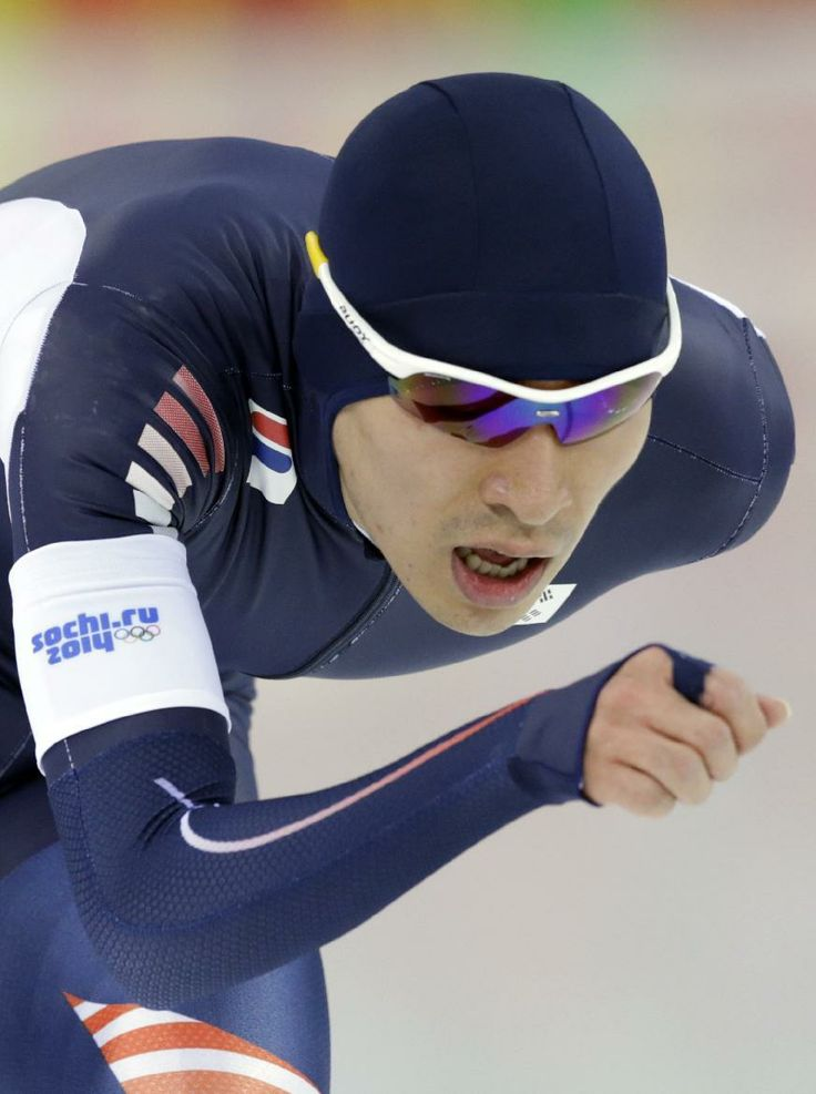 DAY 12:  Lee Seung-hoon  of South Korea competes during the Speed Skating Men's 10000m http://sports.yahoo.com/olympics