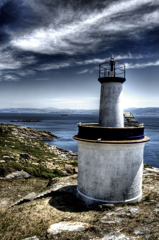 One of Cíes islands lighthouses. Galicia. Uno de los faros de las islas Cíes   Spain  España
