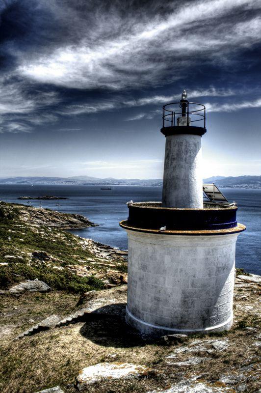 One of Cíes islands lighthouses. Galicia. Uno de los faros de las islas Cíes | Spain  España