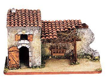 Stable ruins (larger) -– Étable en ruines No. 2 bis - Size #2 / Elite