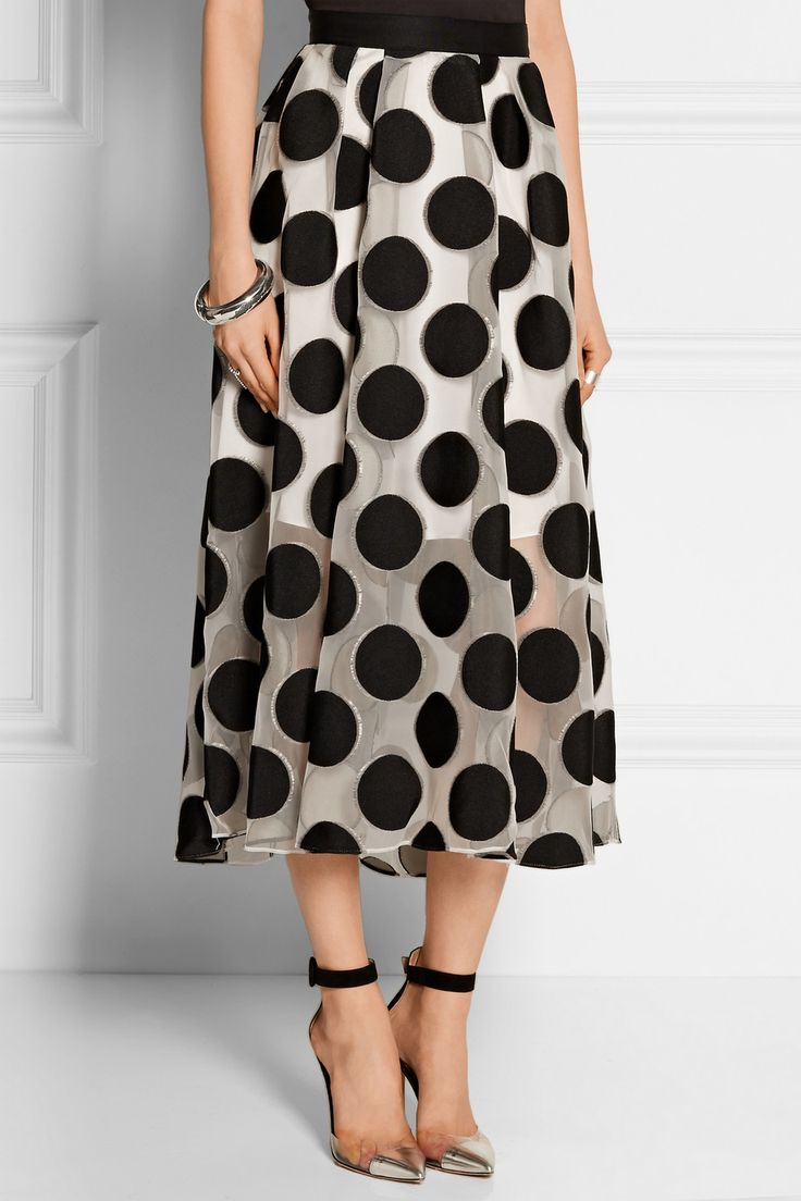 Cupro Skirt - Polka Twist by Leo by VIDA VIDA Really Online Cheap Wide Range Of Cheap Outlet Locations Cheap 2018 Unisex c7gPp