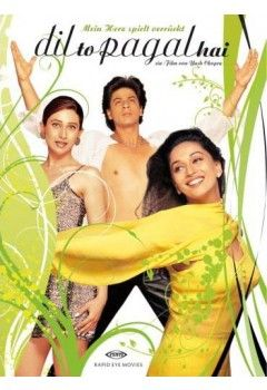 Shahrukh Khan, Madhuri Dixit and Karisma Kapoor - Dil To Pagal Hai - DVD (German Edition)