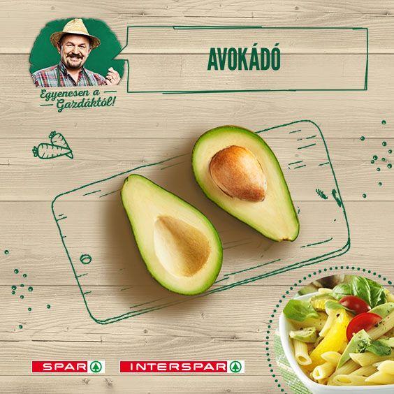 Különleges, krémes íze lassan az egész országot meghódítja. Az egyik kedvenc receptem: http://www.spar.hu/hu_HU/spar_chef/receptek/salata/avokados_rukkolas_tesztasalata.html