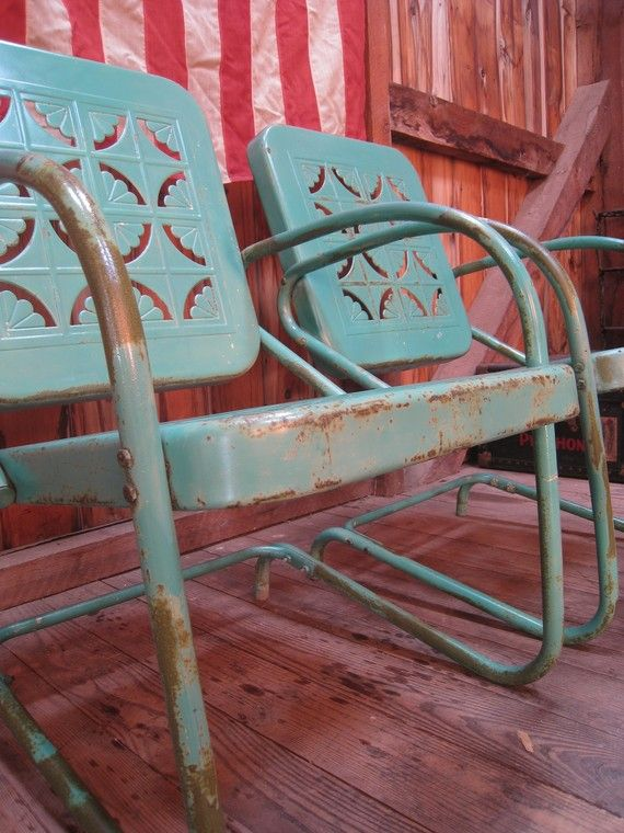 vintage porch chairs