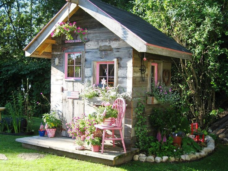 Delightful Cottage Garden Shed Ideas