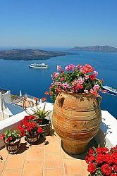 Фотообои терраса с видом на море