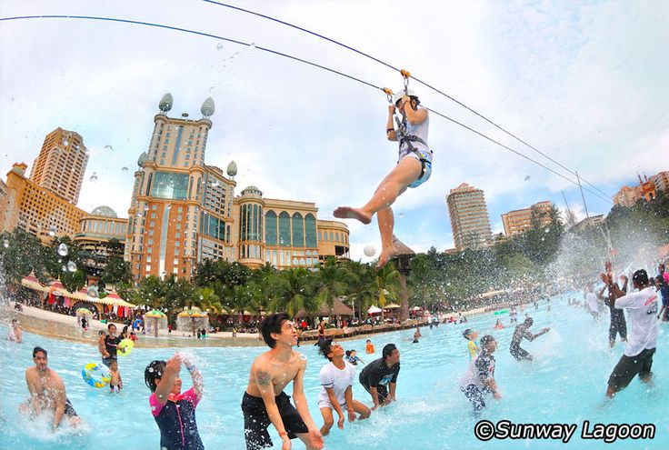 Sunway Lagoon Theme Park is located in Petaling Jaya – a thriving satellite town – about 15km southwest of the Kuala Lumpur city centre. With a variety of watery rides on offer and plenty of dry-land activities too, there are few more fun ways to spend a day than