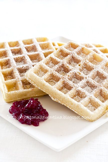 Trattoria da Martina - cucina tradizionale, regionale ed etnica: Waffle, waffel o wafel alla belga (o goufre)