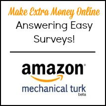 You can make easy extra money online through quick surveys on Amazon Mturk! This post tells you how and what to look for.