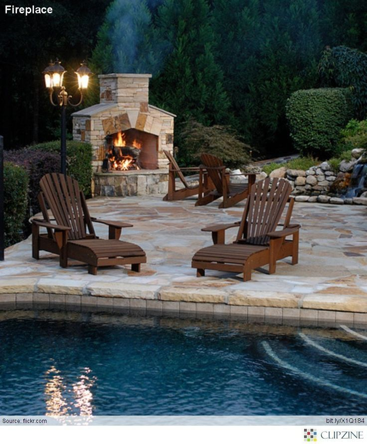 Amazing Outdoor Fireplace Designs Part 3 - Style Estate -