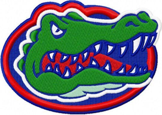 Free Florida Gator Embroidery Designs