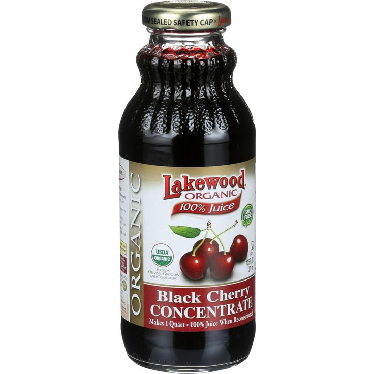 Lakewood Organic 100 Percent Fruit Juice Concentrate - Black Cherry - 12.5 oz - USDA organic. Florida Organic Growers and Consumers. Makes 1 quart. 100% Juice when reconstituted. Organic Black Cherry Concentrate. No preservatives. Contains no water. No fillers. No sweeteners. No additives. Modern research confirms that fruit juice contain a wide range of micro-nutrients which are essential for maintaining good health. No supplement alone can provide the important complex nutrients found in a…