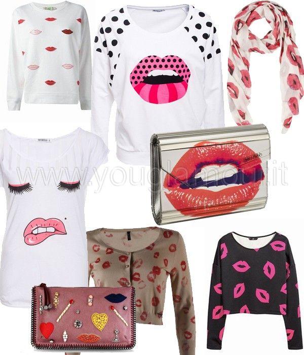 BACI BACI BACI: t-shirt e abiti romantici