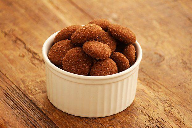Biscoito de canela com chocolate