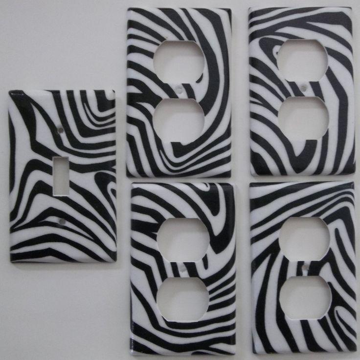 Zebra Print Wall Decor 169 best light switch covers images on pinterest | light switch