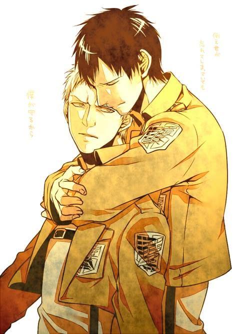 Bertholdt Hoover x Reiner Braun | Anime | Pinterest ...