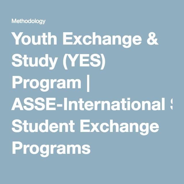 Youth Exchange & Study (YES) Program | ASSE-International Student Exchange Programs