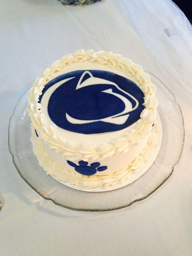 Tim S Penn State Groom S Cake Gostate Psu Krisandtimforever2014 Cake Birthday Cake