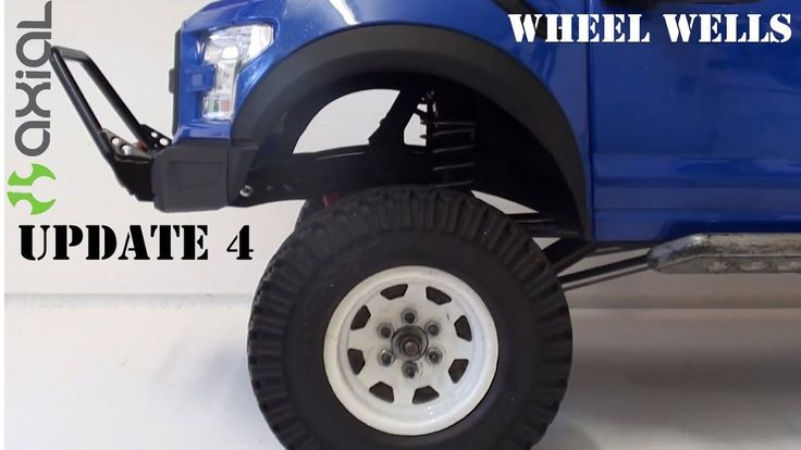 Axial Scx10 - New bright Rc Ford Raptor update 4 - Rc scale 4x4 (wheel w...