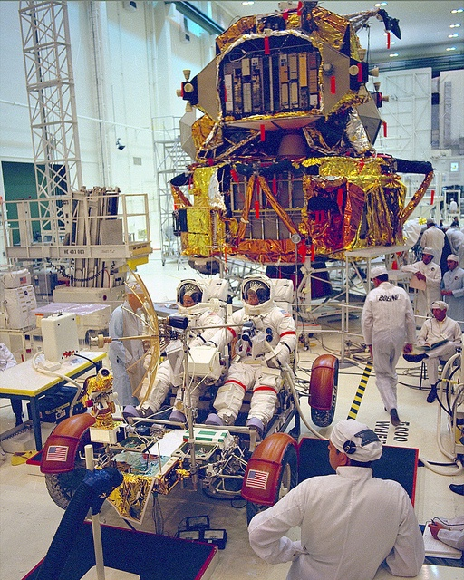 Archive: Lunar Rover Testing by NASA's Marshall Space Flight Center, via Flickr