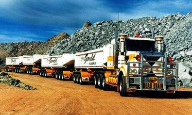 Kamion vonat Dél-Afrika