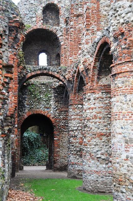 St. Botolph's priory in Colchester, Essex, England